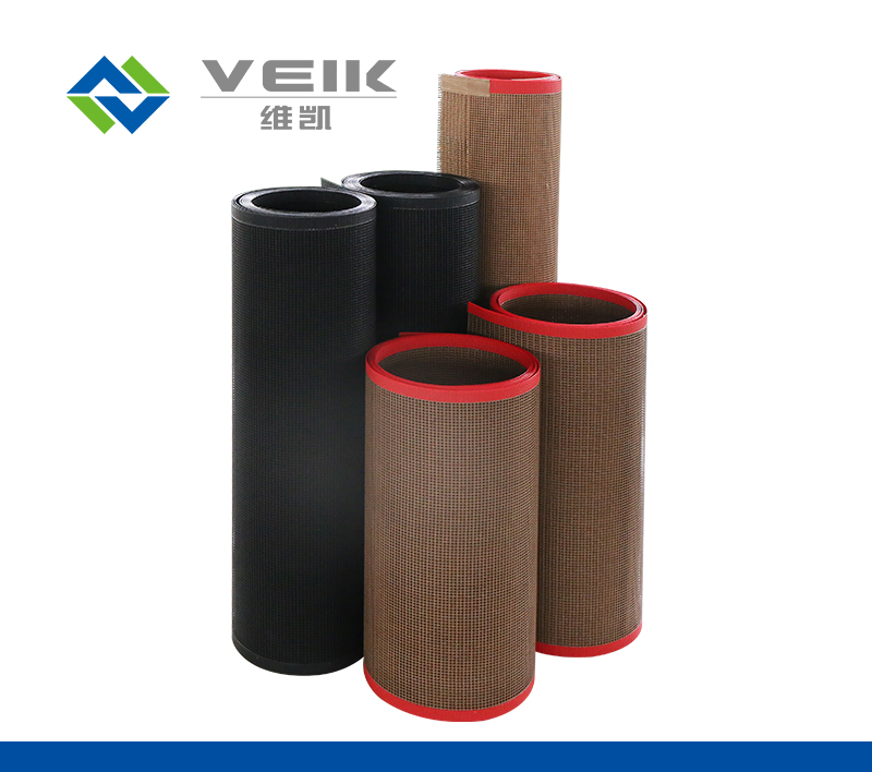 Textile printing and dyeing PTFE mesh conveyor belt